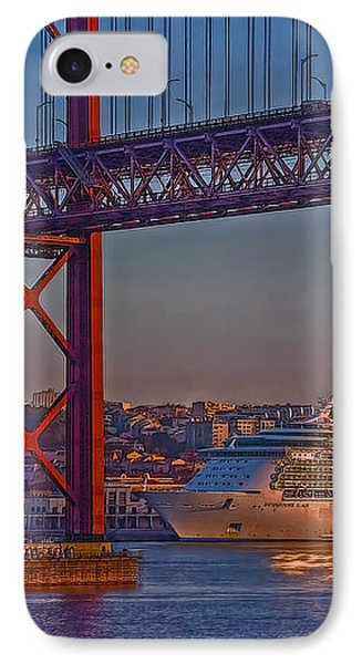 Dawn On The Harbor IPhone Case by Hanny Heim
