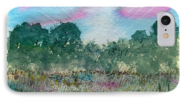 Dawn On The Marsh IPhone Case