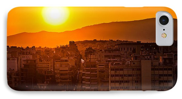 Dawn Over Athens IPhone Case