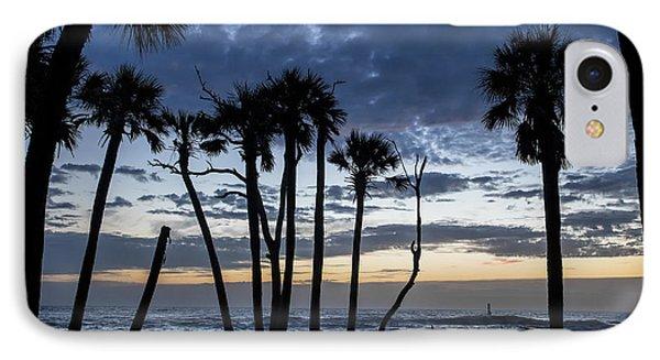 Dawn Silhouettes 01 IPhone Case