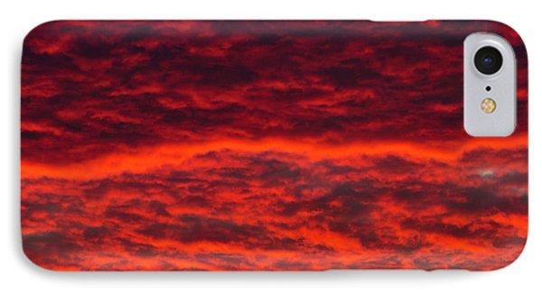 Dawn Sky, Portland, Oregon IPhone Case by William Sutton
