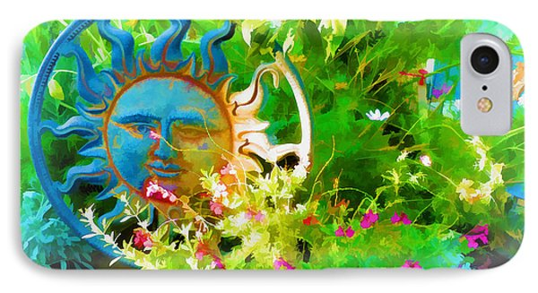 Dawn Sun Across The Garden IPhone Case