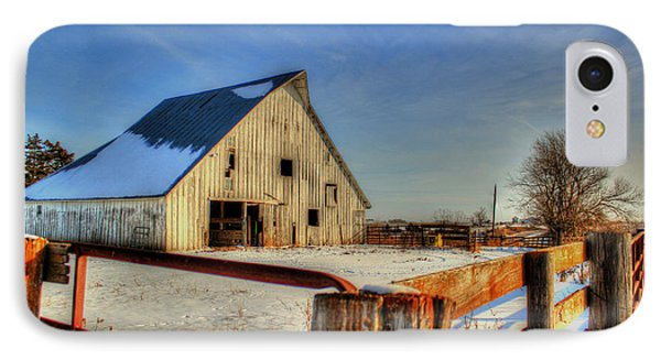 Dawns Barn IPhone Case by Thomas Danilovich