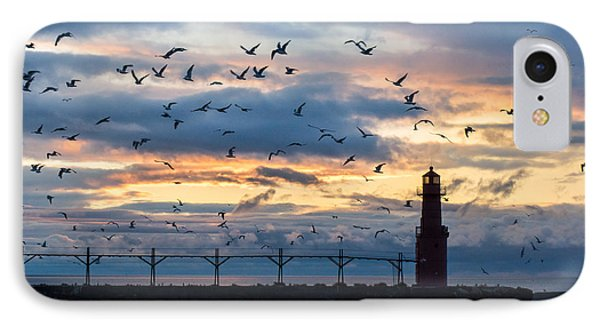 Dawn's Early Flight IPhone Case by Bill Pevlor