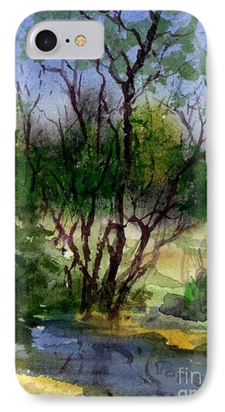 Day 24 Creek Side Aceo IPhone Case
