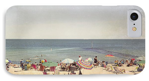 Day At The Beach IPhone Case by Jillian Audrey Photography