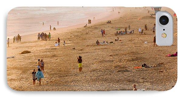 Day At The Beach - Sunset Huntington Beach California IPhone Case