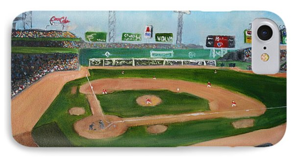 Day Game At Fenway Park IPhone Case by Joshua Chase
