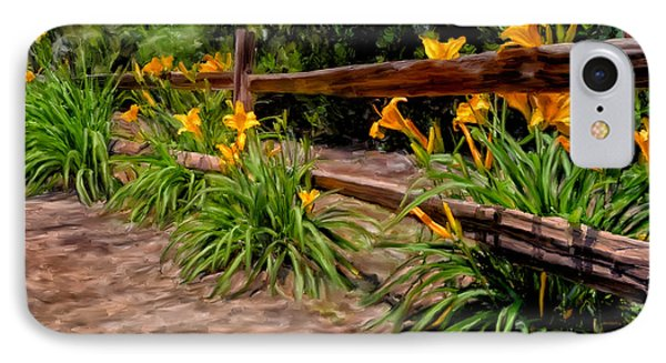 Day Lilies Phone Case by Michael Pickett