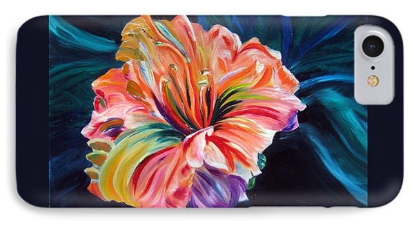 Day Lily Phone Case by LaVonne Hand