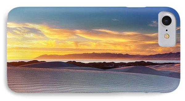 Oceano Dunes - Day Meets Night IPhone Case by Aron Kearney