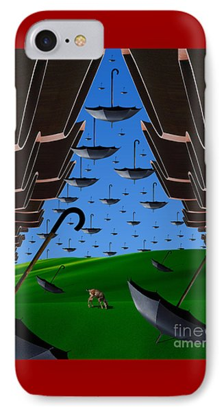 Day Of The Bumbershoots Phone Case by Keith Dillon