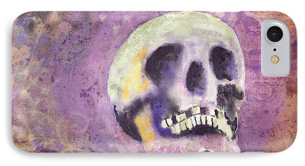 IPhone Case featuring the digital art Day Of The Dead by Arline Wagner