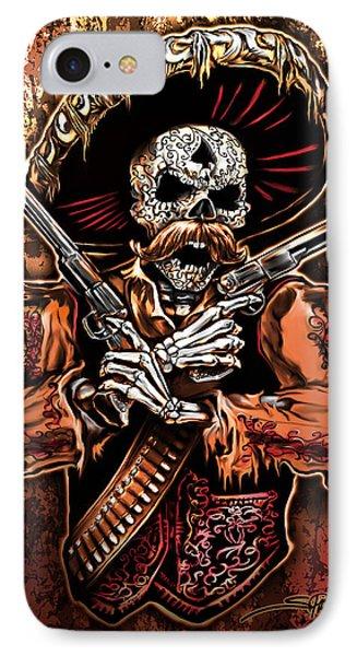 Day Of The Dead Gunslinger IPhone Case