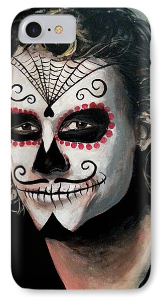 Day Of The Dead - Heath Ledger IPhone 7 Case