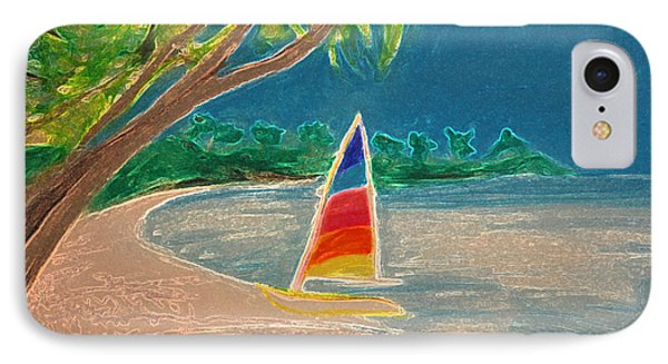 Day Sailer Phone Case by First Star Art