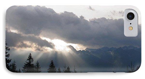 Daybreak Over Lepontine Alps Phone Case by Agnieszka Ledwon