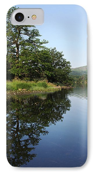 Daybreaks At Rydal Water IPhone Case by Graham Hawcroft pixsellpix