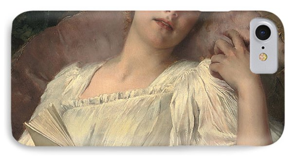 Daydreaming Phone Case by Conrad Kiesel