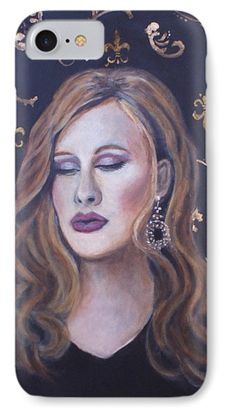 Daydreaming Goddess IPhone Case by The Art With A Heart By Charlotte Phillips
