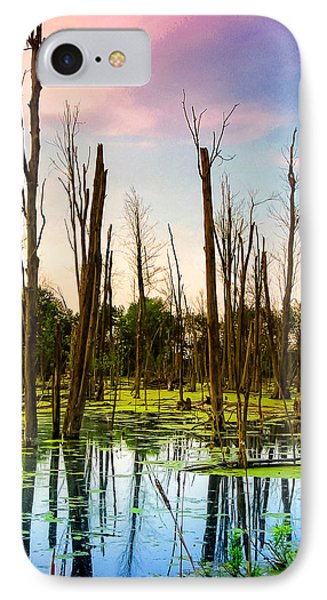 Daylight In The Swamp IPhone Case by Lars Lentz