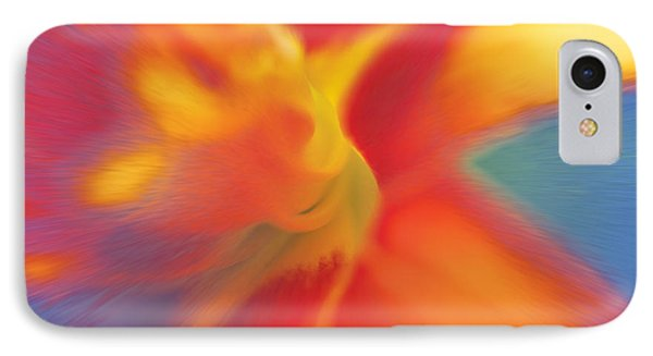 IPhone Case featuring the digital art Daylily by David Davies
