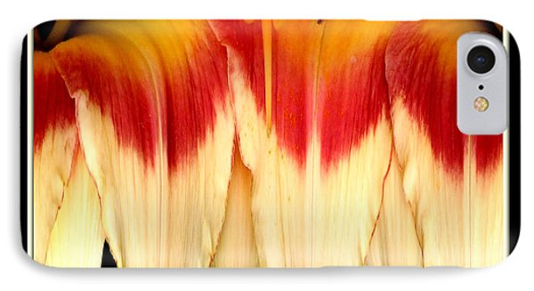 Daylily Flower Abstract 2 Phone Case by Rose Santuci-Sofranko