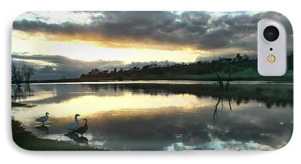 Days End At Horseshoe Lake  IPhone Case