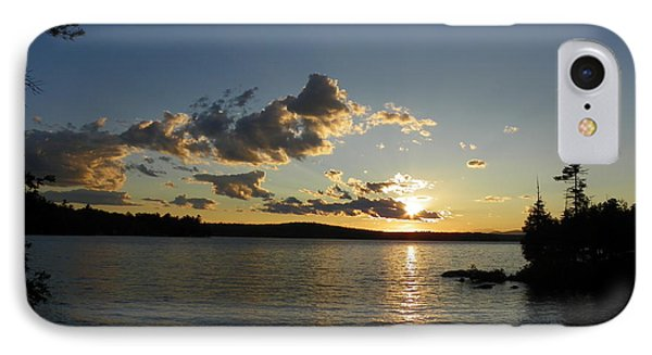 Day's End At Schoodic Lake IPhone Case