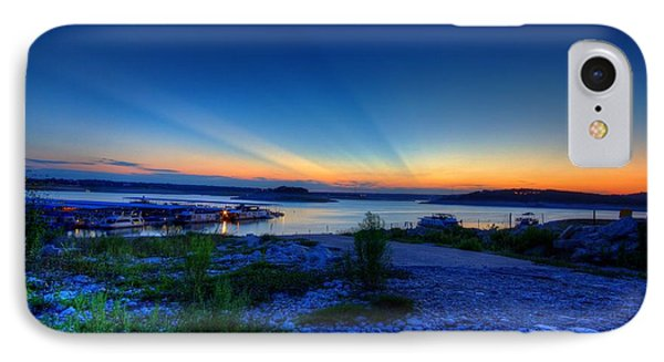 Days End IPhone Case by Dave Files