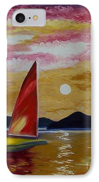Day's End Phone Case by Peggy Miller