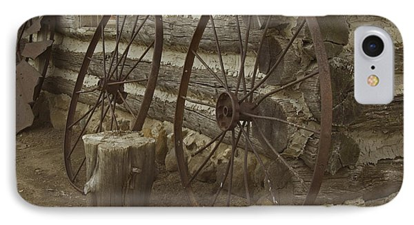 IPhone Case featuring the photograph Days Gone By by Kathleen Scanlan