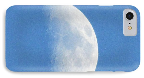 Daytime Moon 2 IPhone Case by Kathy Long