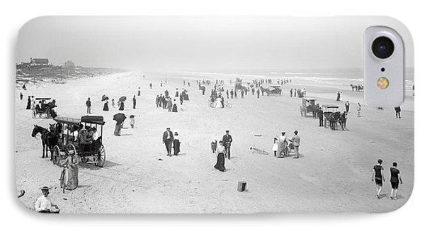 Daytona Beach Florida  1904 IPhone Case by Daniel Hagerman