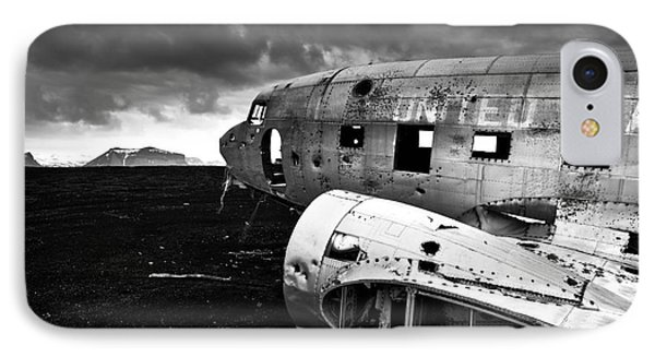 Dc-3 Iceland IPhone Case by Gunnar Orn Arnason