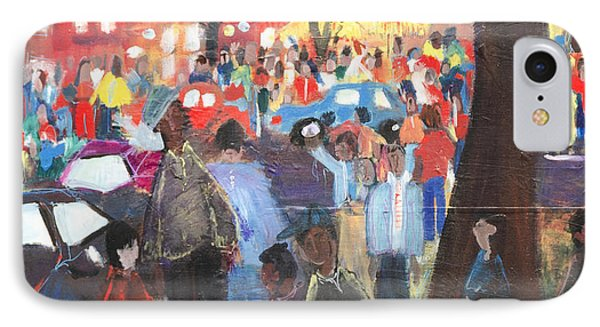 D.c. Market IPhone Case by Leela Payne