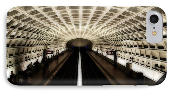 IPhone Case featuring the photograph Dc Metro by Angela DeFrias