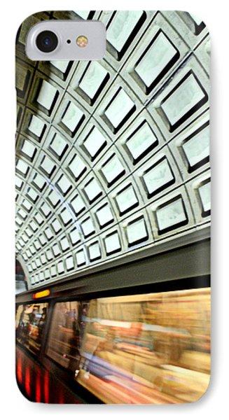 D.c. Metro Phone Case by Ryan Johnson
