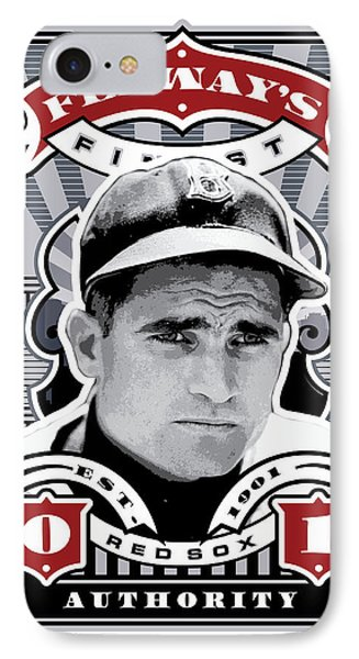 Dcla Bobby Doerr Fenway's Finest Stamp Art IPhone Case