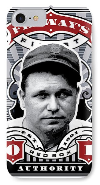 Dcla Jimmie Fox Fenway's Finest Stamp Art IPhone Case by David Cook Los Angeles