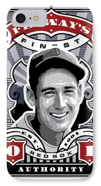 Dcla Ted Williams Fenway's Finest Stamp Art IPhone Case