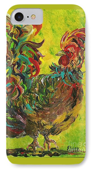 De Colores Rooster #2 Phone Case by Eloise Schneider