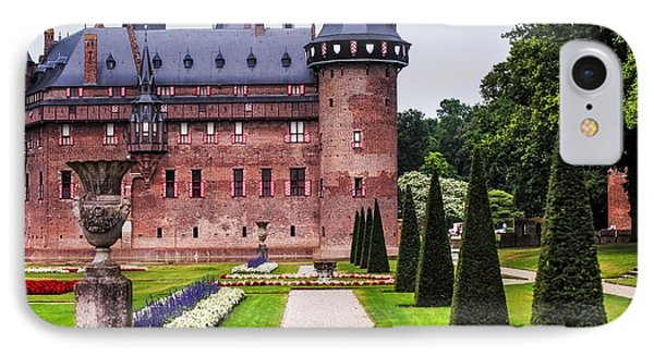 De Haar Castle 2. Utrecht. Netherlands Phone Case by Jenny Rainbow