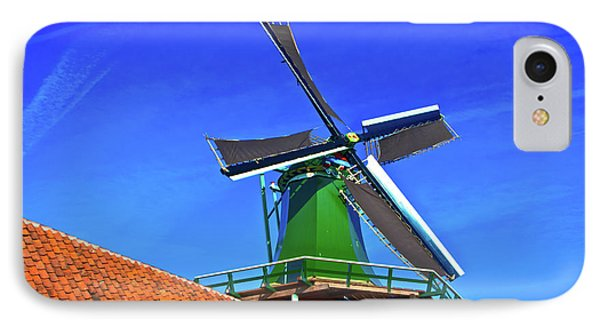 IPhone Case featuring the photograph De Huisman Spice Mill by Jonah  Anderson