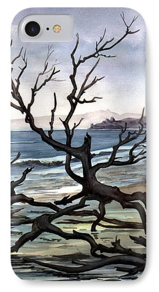 IPhone Case featuring the painting Dead Sea Inhabitant by Mikhail Savchenko