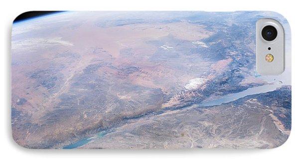 Dead Sea Salt Pans IPhone Case