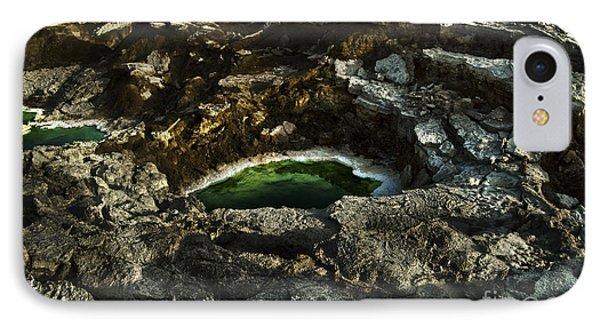 Dead Sea Sink Holes Phone Case by Dan Yeger