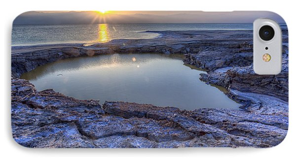 Dead Sea Sunrise IPhone Case by Uri Baruch