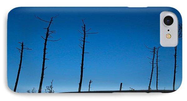 Dead Tree Blues IPhone Case by Csilla Szabo