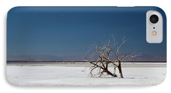 Dead Trees On Salt Flat IPhone 7 Case